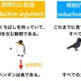 「演繹的・帰納的」な推論の定義、違いを、具体例を交えて解説